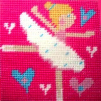 Ballerina Children Needlepoint Kit