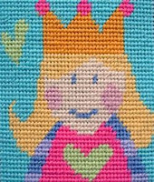 Princess Children Needlepoint Kit