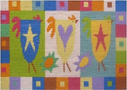 Country Chicken Needlepoint Kit