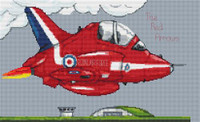 Red Arrows Cross Stitch Kit By Stitchtastic