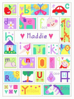 Stitching Shed Alphabet Sampler Cross Stitch Kit
