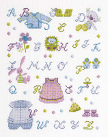 My Clothes And Soft Toys Sampler Cross Stitch Kit
