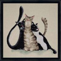 Kitty Trio Cross Sttich Kit By Riolis
