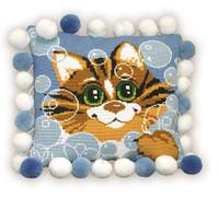 Cat Cushion Cross Stitch Kit