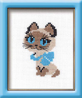 Kitten Cross Stitch Kit