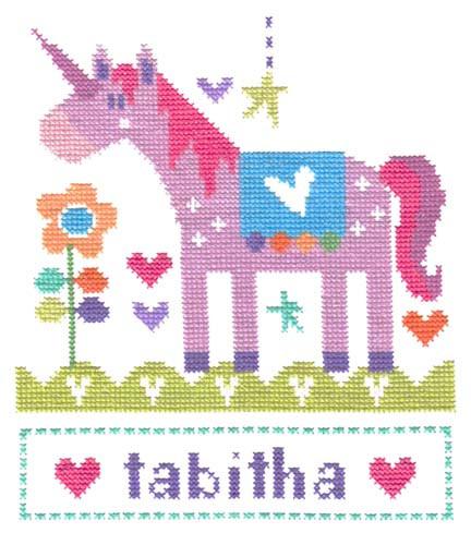 Unicorn Cross Stitch Kit By Stitching Shed