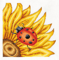 The Ladybird Cross Stitch Kit By Dmc