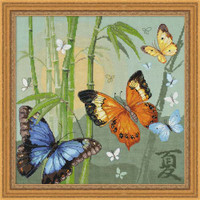 Butterflies Cross Stitch Kit By Riolis