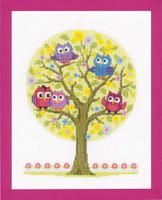 Owl Tree Vervaco Cross Stitch Kit