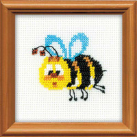 Bee Bead Embroidery Kit