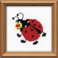 Ladybird Bead Embroidery Kit