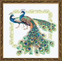 Peacocks Cross Stitch Kit