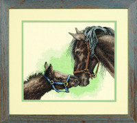 Mother And Colt Cross Stitch Kit