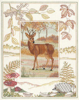 Deer Sample Cross Stitch Kit