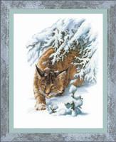 The Lynx Cross Stitch Kit By Riolis