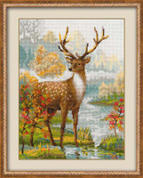 Deer Cross Stitch Kit