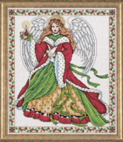 Christmas Angel Cross Stitch Kit By Design Works