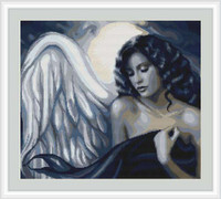 Seductive Angel Cross Stitch Kit By Luca S