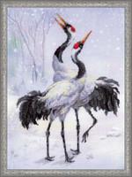 Cranes Cross Stitch Kit By Riolis