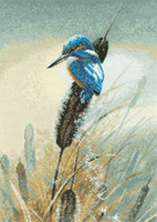 Little Fisher Cross Stitch Kit By Heritage