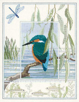 Kingfisher Sampler Cross Stitch Kit