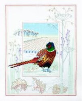 Pheasant Cross Stitch Kit