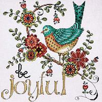 Be Joyful Cross Stitch Kit By Design Works