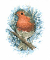 Robin Redbreast Cross Stitch Kit