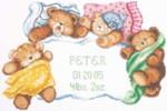 Down For A Nap Cross Stitch Kit By Janlynn