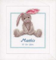 Cute Bunny Cross Stitch Kit By Vervaco