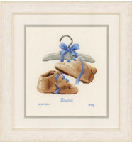 My First Shoes Cross Stitch Kit By Vervaco
