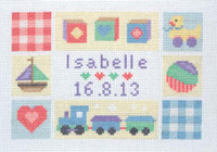 Baby Sampler  Cross Stitch Kit