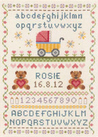 Birth Classic Sampler Cross Stitch Kit By Anchor