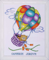 Up, Up And Away Sampler Cross Stitch Kit By Design Works