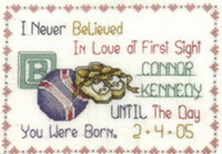 Love At First Sight Cross Stitch Kit