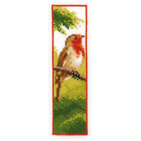 Robin Bookmark Cross Stitch Kit