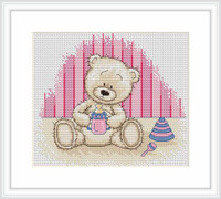 Baby Bianca Cross Stitch Kit By Luca S