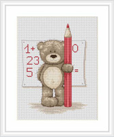 Mathematician Bruno Cross Stitch Kit By Luca S