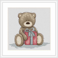 Brunos Gift Cross Stitch Kit By Luca S