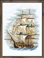The Ship Cross Stitch Kit