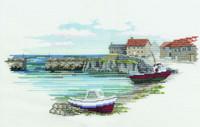 Fishermans Haven Cross Stitch Kit