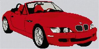 Bmw Z3 Cross Stitch Kit