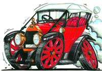 Fiat Circ 1925 Cross Stitch Kit