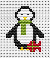 Sew Simple Penguin Cross Stitch Kit