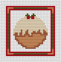 Sew Simple Pudding Cross Stitch Kit