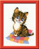 Kitten Starter Cross Stitch Kit By Riolis
