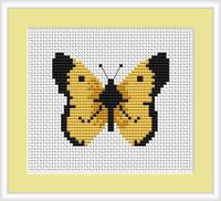 Butterfly Mini Cross Stitch Kit By Luca S