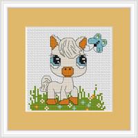 Pony Mini Cross Stitch Kit By Luca S
