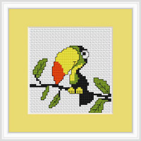 Toucan Mini Cross Stitch Kit By Luca S