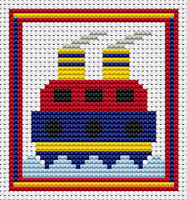 Sew Simple Tug Cross Stitch Kit